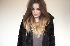 Want! Im going to start lightening my hair so i can do this! Then dye it black again in the summer