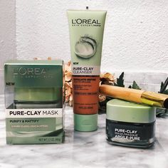 L'oreal Pure clay mask and cleanser Review