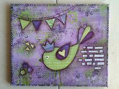 Made-By-Me....Julie Ryder: More Birdies and Buntings...