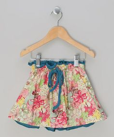 Red Floral Skirt - Infant, Toddler & Girls by La faute à Voltaire