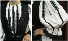 The folk costume – National Centre for Information and Tourist Promotion Folk Costume, Costumes, Pagan Fashion, Renaissance Costume, White P, Piece Of Clothing, Black Silk, Trousers Women, Traditional Dresses