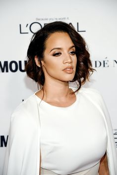 """Dascha Polanco attends 2015 Glamour Women Of The Year Awards at Carnegie Hall on November 9, 2015 in New York City. """" please god """""""