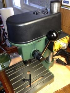 How to setup a Micro Drill Press Jewellers Bench, Drill Press, Jewelry Tools, Coffee Maker, Workshop, Studio, Ideas, Atelier, Drill