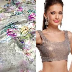 Steel grey pure satin sareewith floral print and sequin border To purchase mail us at houseof2@live.com or whatsapp us on +919833411702 for further detail #sari #saree #satin #traditional #traditionalwear #ethnic #pure #grey #sequin #houseof2