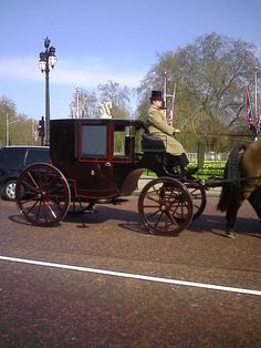 A Carriage from The Royal Stables