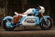 Galaxy Custom Mille Miglia X: We interview the Bulgarian designer of this racecar-inspired stunningly customized BMW K 1200 RS motorcycle. Bmw Motorbikes, Cool Motorcycles, Japanese Motorcycle, Retro Motorcycle, Custom Bmw, Custom Bikes, Shadow Of The Beast, Best Motorbike, Bobber Style