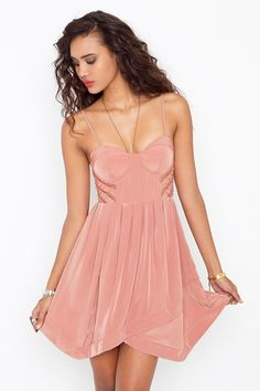 Corset Cage Dress from Nastygal