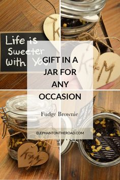 Gift In A Jar: Fudge