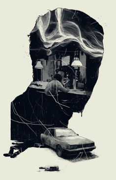 Simón Prades | Illustration - A piece fro Esquire, US for a short story by Matt...