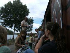 LiteRadTour, Waggon am Kulturgleis