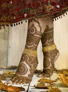 Beautiful Hands Foots Mehndi Designs 2018