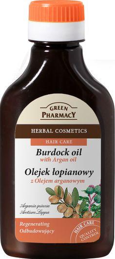 Olejek łopianowy z olejem arganowym - juz sobie ostrze zabki!