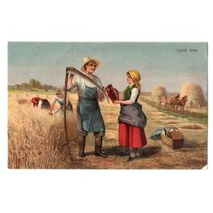 FM Cologne Postcard Lunch Time Rural Idyll Farmer Listing in the Art,Postcards,Collectables Category on eBid United Kingdom | 145957545