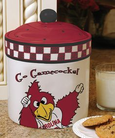 Take a look at this South Carolina Game Day Cookie Jar by The Memory Company on #zulily today!