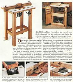 Making a Router Table - Router