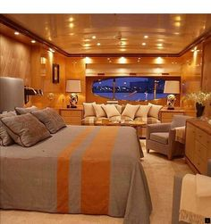 Luxury Yacht Interior, The times for a vacation is of course very important to refresh our body and mind that already tired to work or study. Luxury Yacht Interior, Boat Interior, Luxury Yachts, Interior Design, Yacht Design, Boat Design, Super Yachts, Yacht Builders, Yacht Boat