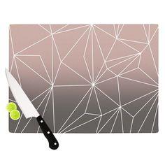 Simplicity 2X by Mareike Boehmer Cutting Board