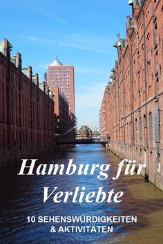 Hamburg for lovers: the most romantic places by day & night - Hamburg is one of the most beautiful cities in Germany. If you are looking for some travel tips, ha - Most Romantic Places, Most Beautiful Cities, Cities In Germany, Germany Travel, Vacation Places, Places To Travel, Europe Destinations, Thats The Way, St Pauli