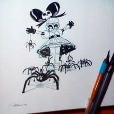#inktober day 01. Check www.inktober.com for more info. Let's have fun!!! #dailysketch #inks