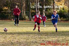 Let the games begin! www.littlekickers.co.uk #littlekickers #football