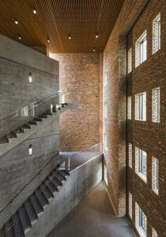 Japanese architect Tadao Ando has turned an old brick building in Chicago into an architecture-focused exhibition centre. Japanese architect Tadao Ando has turned an old brick building in Chicago into an architecture-focused exhibition centre. Hotel Design Architecture, Concrete Architecture, Space Architecture, Japanese Architecture, Contemporary Architecture, Factory Architecture, Futuristic Architecture, Ancient Architecture, Sustainable Architecture