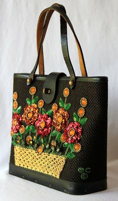 Enid Collins Purse   Vintage 60s   Copyright by PetticoatsPlus Purses And  Handbags 7a99cec689e65