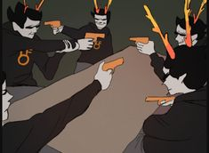 WHAT ¦ Dammek Gungun is outta control Cartoon As Anime, All Anime, House Swap, Web Comics, Davekat, Homestuck, Told You So, Fandoms, Meme