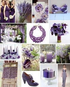 purple wedding decor on COUTUREcolorado WEDDING