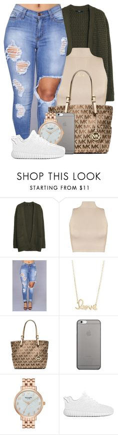""""""" the human heart will always be a mystery """" by mindlesspolyvore ❤ liked on Polyvore featuring MANGO, WearAll, Sydney Evan, Michael Kors, Native Union and Kate Spade"""