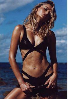 e510fd766c469 Agent Provocateur Mazzy Black Wet Look Bikini Top In AP 5 - UK 14/16