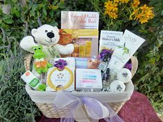Pampering Postpartum Gift Basket