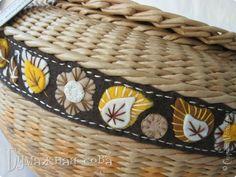 Поделка изделие Плетение Шитьё Осенне-зимнее Ткань Трубочки бумажные Фетр фото 6