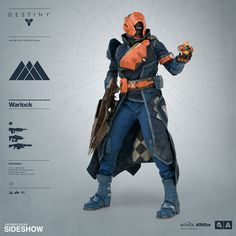 Destiny Warlock Sixth Scale Figure by ThreeA Toys | Sideshow Collectibles