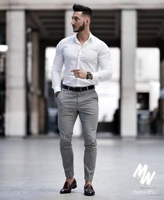 Nice style by youclement Formal Dresses For Men, Formal Men Outfit, Formal Shirts For Men, Casual Wear, Blazer Outfits Men, Stylish Mens Outfits, Smart Casual Men, Business Casual Outfits, Mens Fashion Wear