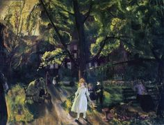 Gramercy Park (oil on canvas) by George Wesley Bellows / Private Collection