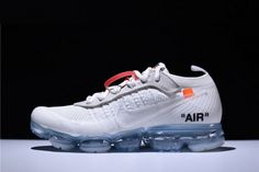 e09a3add4ec59 Shop 2018 Virgil Abloh Off-White x Nike Air VaporMax White Black Total  Orange For Sale - ishoesdesign