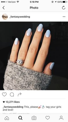 """It may say """"wedding"""" because of the ring, but I'm pinning it for the nail polish. :P"""
