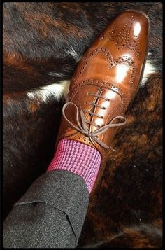 Sometimes the essentials are the things not always seen. Socks like these serve as an accessory to the shoe and pant. This is men's fashion at its finest.
