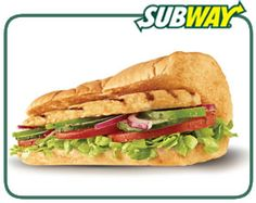 6 grams of fat or less: Subway Chicken Breast sandwich Sandwiches, Delicious Vegan Recipes, Vegetarian Recipes, My Favorite Food, Favorite Recipes, Dubai Food, Fast Food Places, Food Test, Chicken