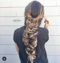 Mixed braid combo