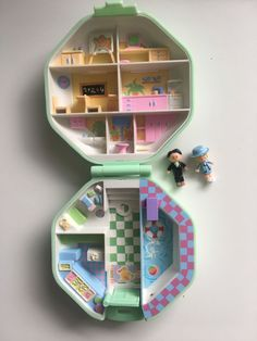 Vintage Polly pocket, Polly´s school, from 1990, Polly lot, complete, original #PollyPocket