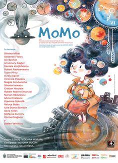 Momo - theatre poster on Behance