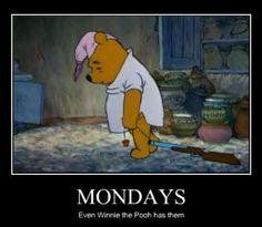 Winnie the Pooh Mondays