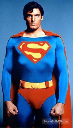 Superman... my heart skipped a beat when I saw this! I love Christopher Reeve!