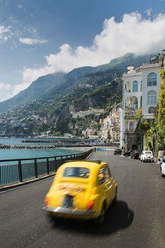1704 - Amalfi Drive On The Coast Of Southern Italy