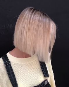 hairstyles v bts, hairstyles you can do with braids, cornrow hairstyles history, quick hairstyles for short natural short bob hairstyles 2019 female over hairstyles buns and plaits, fishtail braid hairstyles kids. Copper Balayage, Blonde Balayage, Blonde Highlights, Blonde Hair, Short Hair With Bangs, Short Hair Cuts, Bobs For Thin Hair, Straight Hair, Blond Pony