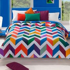 que linda cama vl Bed Styling, Bedroom Bed, Bed Covers, My Room, Bed Sheets, Quilt Patterns, Comforters, Colours, Quilts