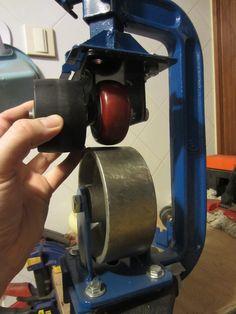 Making a mini-English wheel using a large C-Clamp