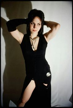 Joan Jett in a dress! Had to pin this...rare sight! lol