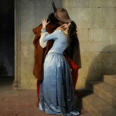 Francesco Hayez The Kiss print for sale. Shop for Francesco Hayez The Kiss painting and frame at discount price, ships in 24 hours. Kiss Painting, Painting Portraits, Oil Paintings, Famous Art Paintings, Classic Paintings, Romantic Paintings, Beautiful Paintings, The Kiss, Art Ancien